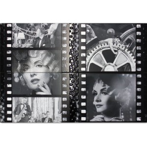 Wandtegels Decor Cinema Marilyn Monroe Charlie Chaplin