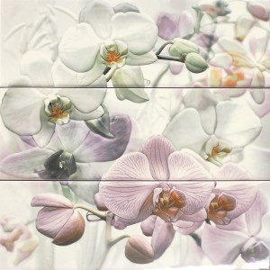 Wandtegels Decor Orchidee