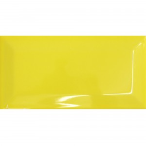 Metro Wandtegels Colombo Yellow 10x20cm