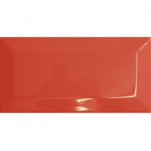 Metro Wandtegels Colombo Red 10x20cm